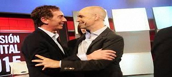 Horacio Rodriguez Larreta va con Diego Santilli de vice si es el elegido