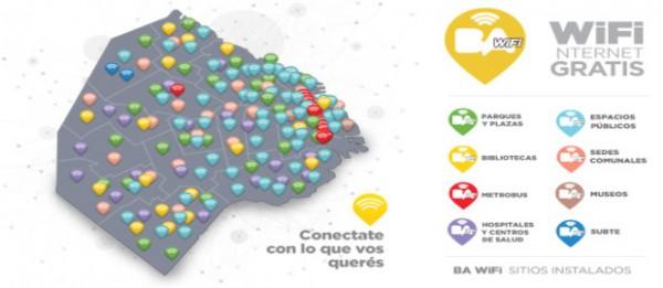 Rodriguez Larreta prometio mas Wifi gratis en la ciudad