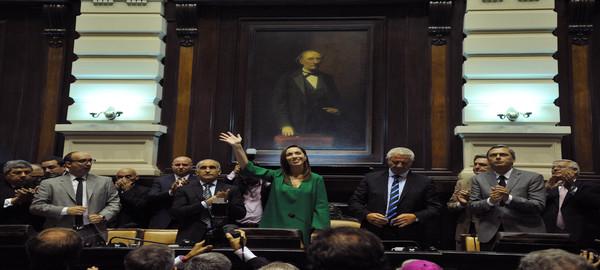 La Gobernadora Maria Eugenia Vidal inauguro las sesiones ordinarias bonaerenses