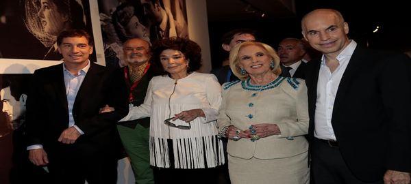 Rodríguez Larreta y Santilli  participaron del homenaje a Graciela Borges y Mirtha Legrand en el BAFICI