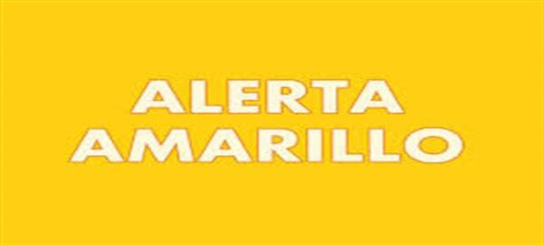 Alerta amarillo por altas temperaturas