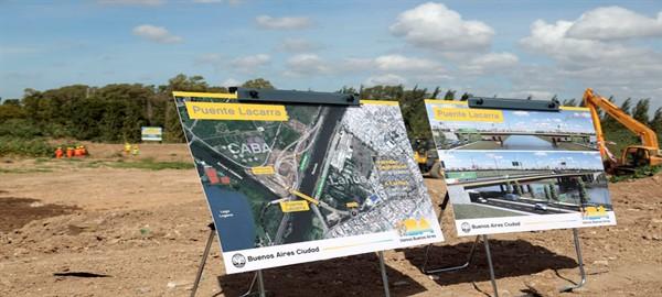 La Ciudad anunció el inicio de obras del puente Lacarra que la unirá   con Lanus