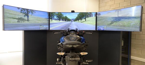 Nuevos simuladores de manejo de la Policía de la Ciudad