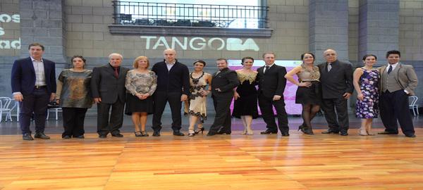 El jefe de Gobierno participó del inicio de la competencia del Mundial de Tango