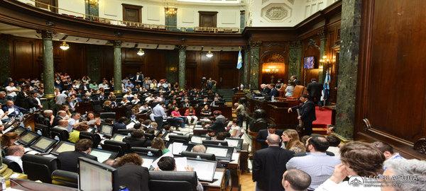 Legislatura Porteña compacto de Legislatura  Sesión  del  7 de diciembre de 2017