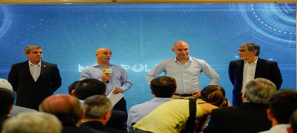 El jefe de Gobierno  Horacio Rodríguez Larreta presento a las nuevas autoridades de la Policia de la Ciudad