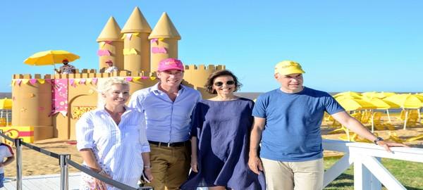 Rodriguez Larreta y Santilli inauguraron la Decima temporada de Buenos Aires Playa 2018