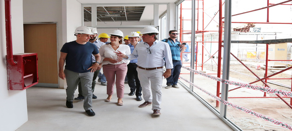 Rodríguez Larreta, recorrió  las obras del nuevo Centro de Gestión de la Movilidad