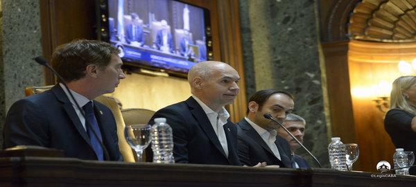 El jefe de Gobierno de la Ciudad El XXI Período de Sesiones Ordinarias de la Legislatura Porteña