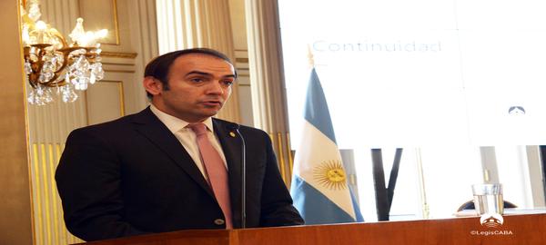 Legislaura Porteña Francisco Quintana presento el Plan de Accion 2018-2019