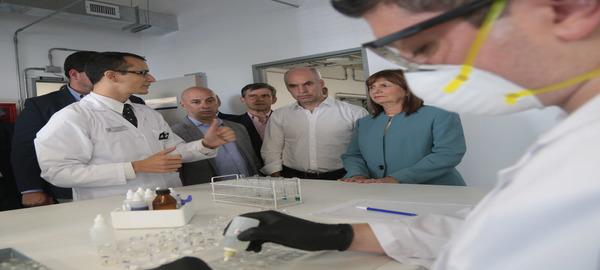 Rodríguez Larreta y Bullrich inauguraron el nuevo laboratorio de la Policía Científica Federal