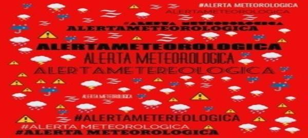 Recomendaciones ante Alerta Meteorologico