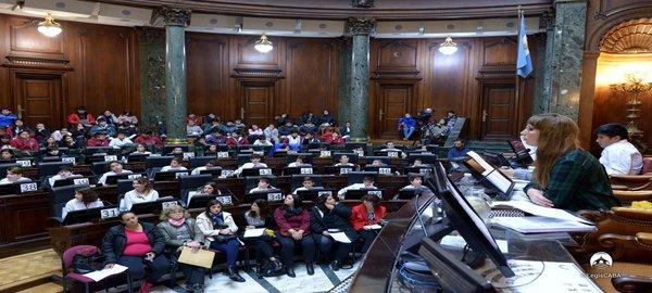 Legislatura Porteña:Compacto de la  Sesión del 7 de Junio 2018