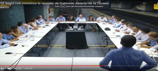 Mañana  nueva reunión de Gabinete porteño