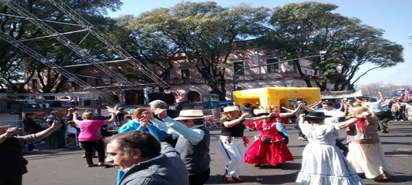 Domingo en la tradicional Feria de Mataderos