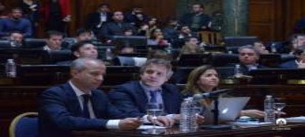 Felipe Miguel  Jefe de Gabinete de Ministros del Gobierno de la Ciudad de Buenos Aires ofreció el primer informe de gestión del año
