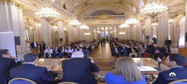 Legislatura Porteña:Se realizo Seminario de Derecho Parlamentario y Técnica Legislativa
