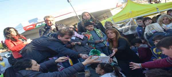 Ritondo-Quattromano y Del Sol celebraron el tradicional Día del Niño en la Comuna 9