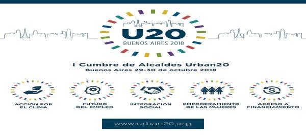 Hoy comienza Urban 20 en la Ciudad de Buenos Aires