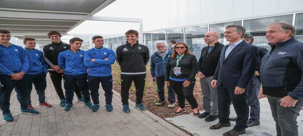 Macri y Rodríguez Larreta recorrieron el Parque Olímpico a nueve días del comienzo de los Juegos de la Juventud