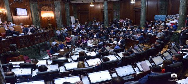 Legislatura Porteña:Compacto de la Sesión Ordinaria del 1de Noviembre de de 2018