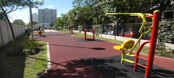 Quedo inaugurada la puesta en valor del Parque Lineal Crámer