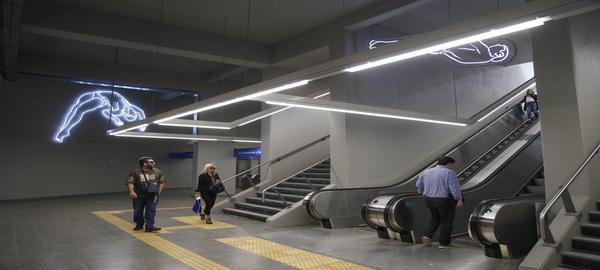 Central Obelisco: se inauguró un nuevo acceso al subte sobre la calle Sarmiento