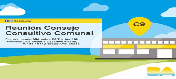 Consejo Consultivo Comuna 9 Febrero 2020