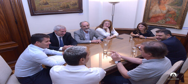 Legislatura Porteña:Acuerdo para prevenir la violencia en el ámbito deportivo