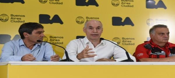 """Rodríguez Larreta: """"Se está siguiendo el protocolo definido para esta situación"""""""