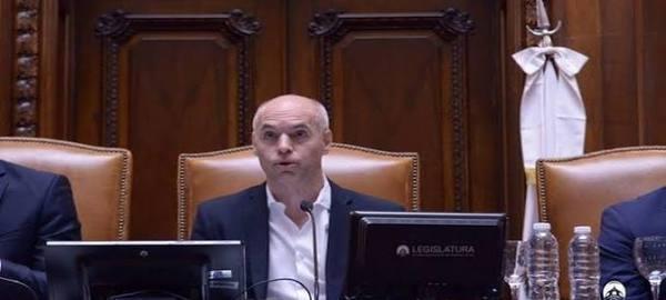 El Jefe de Gobierno de la Ciudad de Buenos Aires inauguró el XXIII Período de Sesiones Ordinarias
